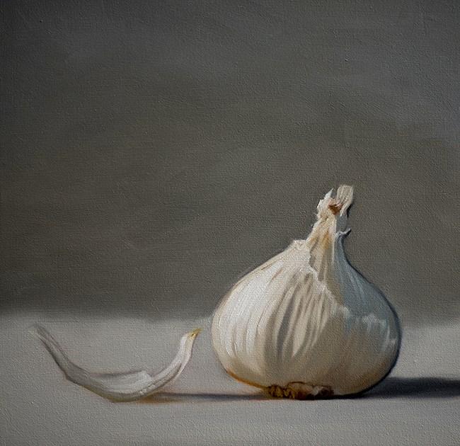 """Garlic"" original fine art by Lauren Pretorius"