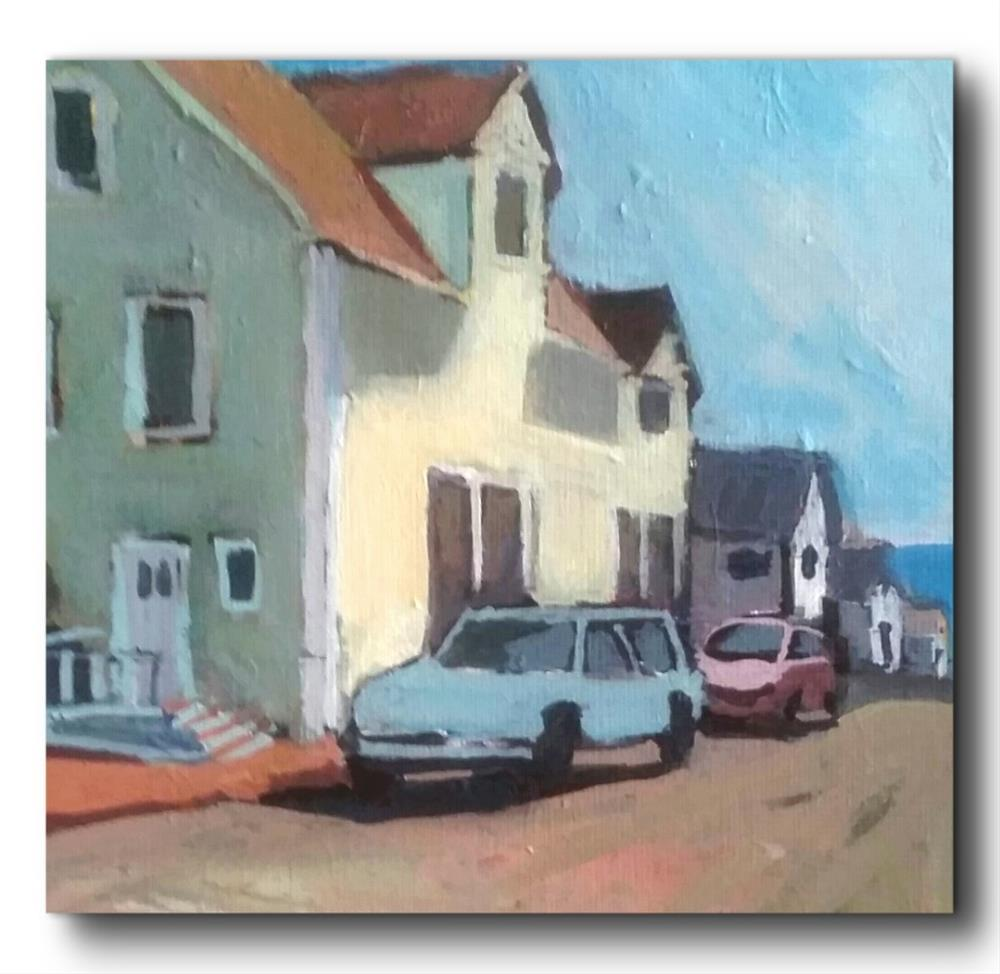 """Near Ocean Ave- Milford Ct."" original fine art by Liz Maynes"