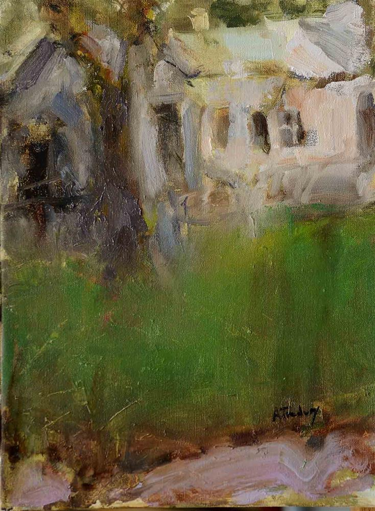 """Winter"" original fine art by alicia tredway"
