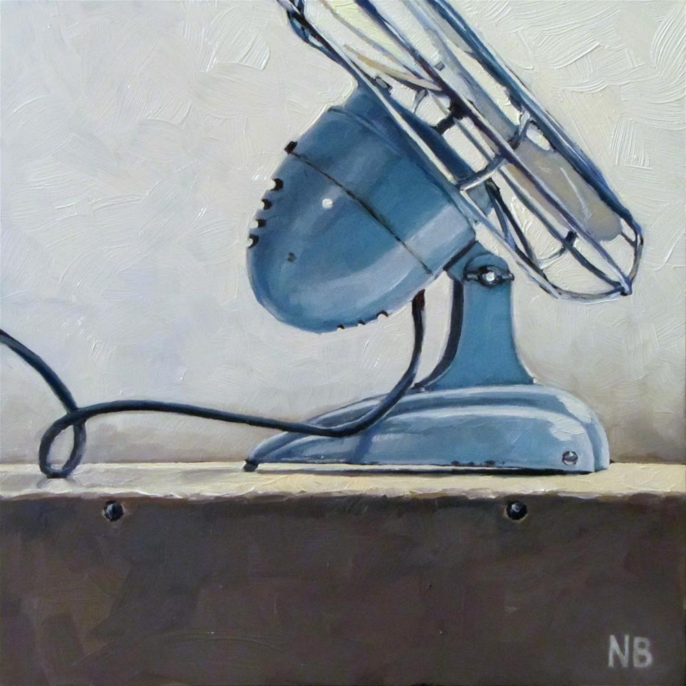 """I'm a Fan"" original fine art by Nora Bergman"
