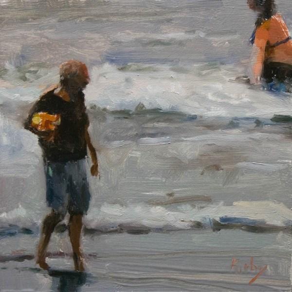"""A Wet Day"" original fine art by Randall Cogburn"