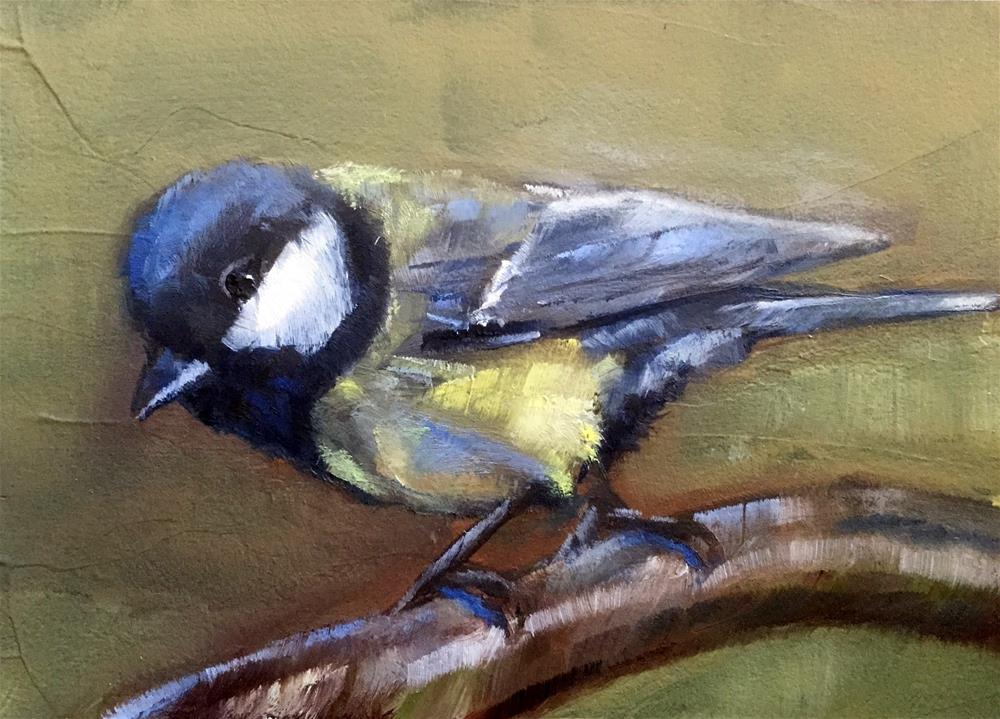 """Tit"" original fine art by Gary Bruton"