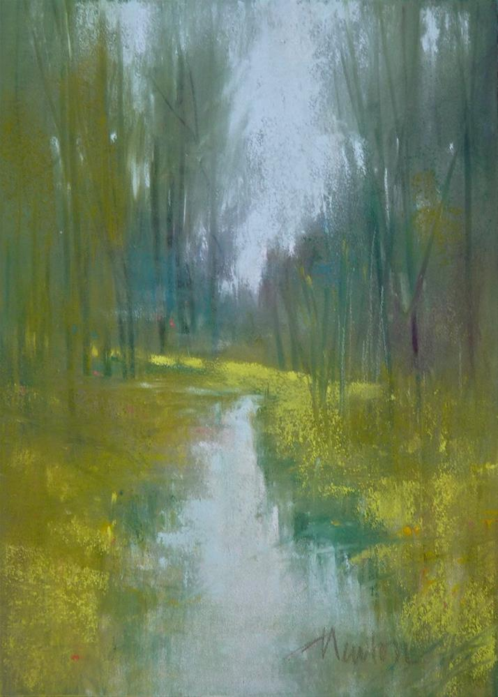 """Rock Creek Series: #6"" original fine art by Barbara Benedetti Newton"