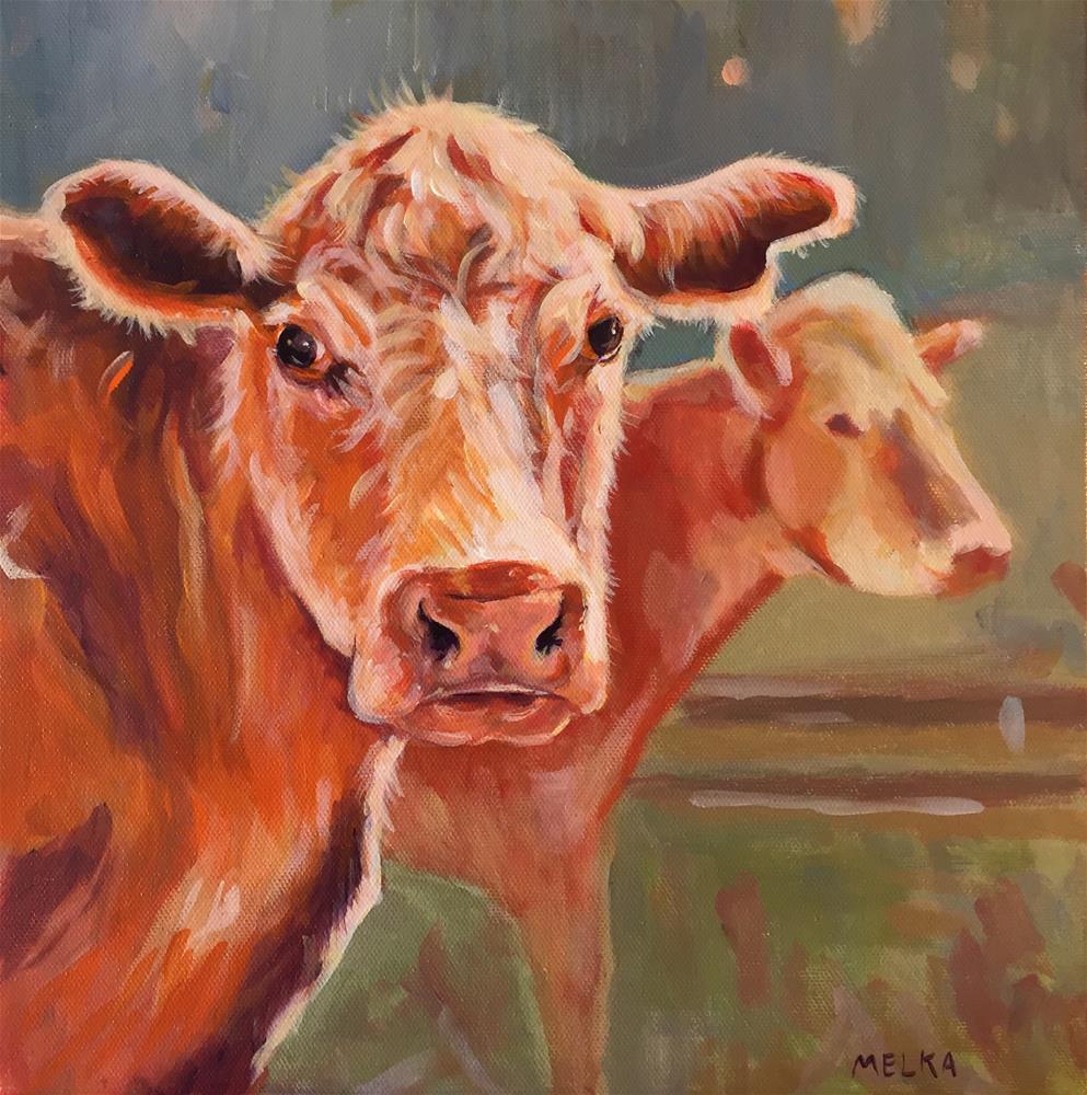 """""""SUE"""" original fine art by Dawn Melka"""