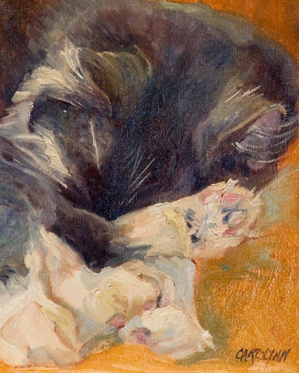 """""""Baby Toes"""" original fine art by Carolynn Doan"""