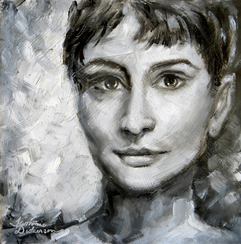 """Audrey"" original fine art by Tammie Dickerson"