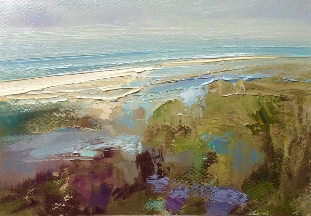 """After the Rain"" original fine art by Anne Wood"