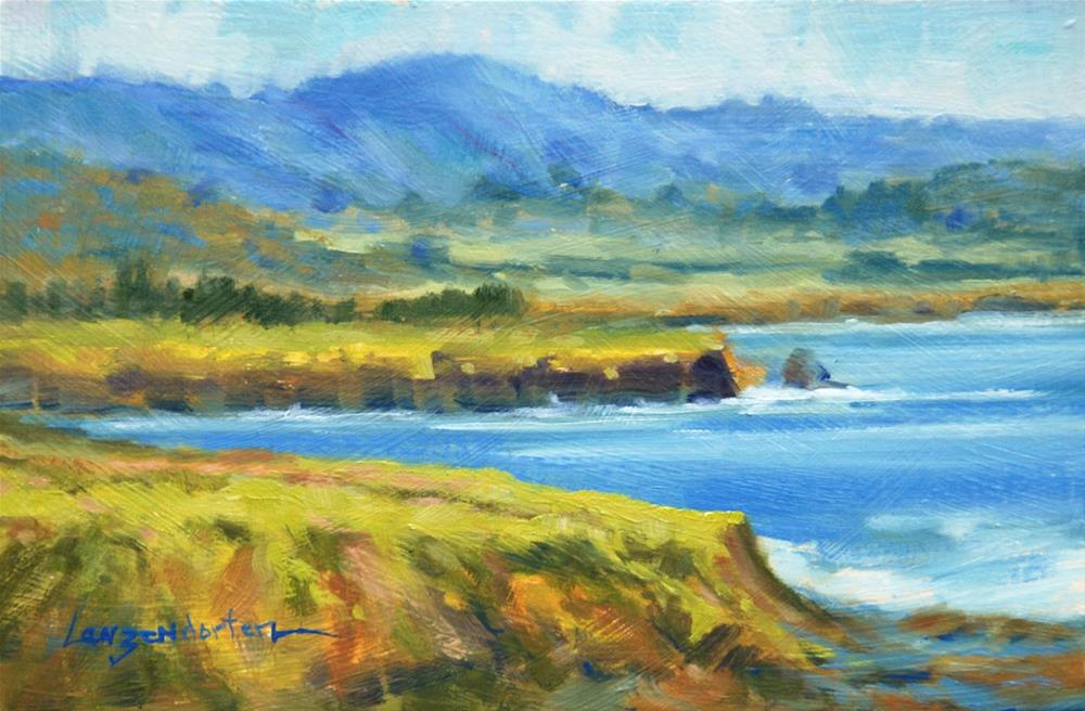 """NORTHWEST SHORE"" original fine art by Dj Lanzendorfer"