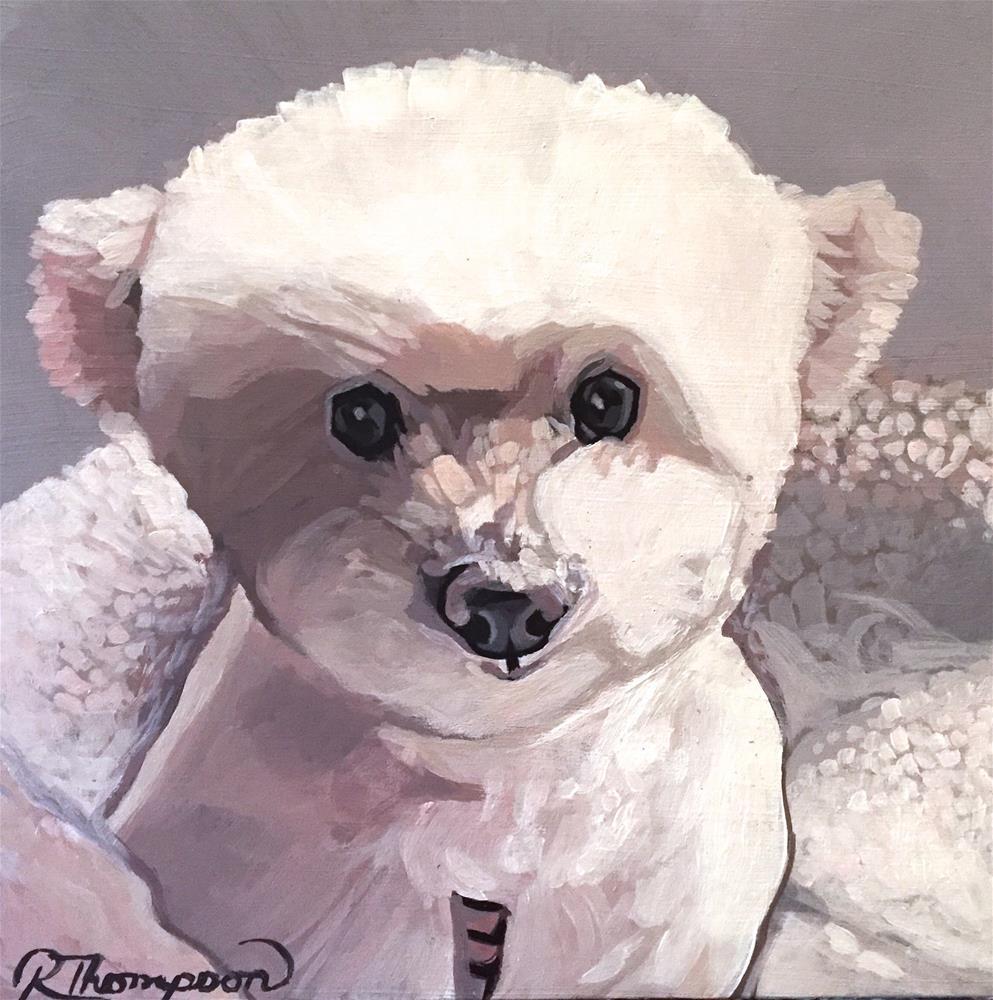 """Gracie"" original fine art by Rachel Thompson"