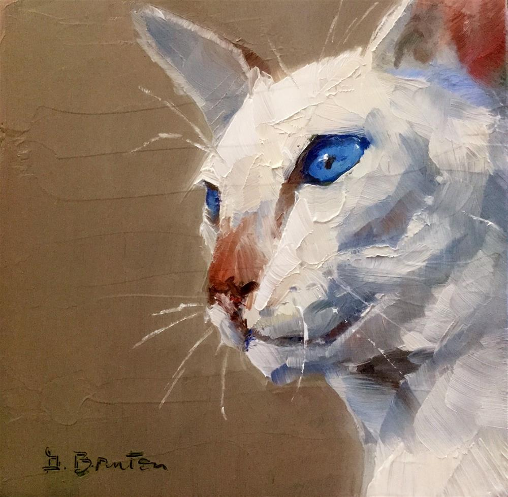 """Blue Eyes"" original fine art by Gary Bruton"