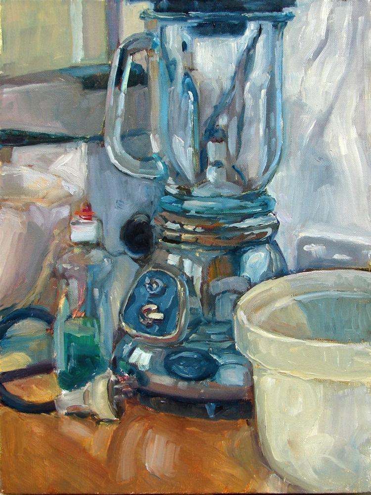 """Kitchen monument"" original fine art by Myriam Kin-Yee"