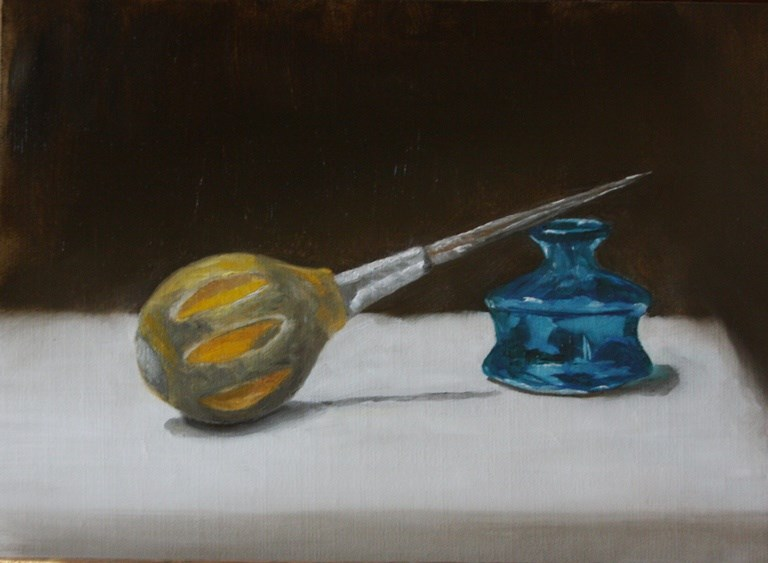"""""""Awl for One"""" original fine art by Mary Datum"""