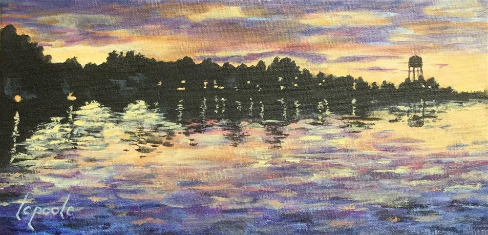 """Low Country Morning"" original fine art by T.C. Poole"