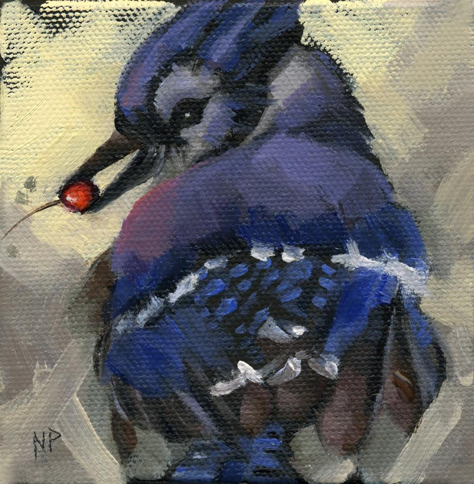 """""""SOLD - Finder's Keepers"""" original fine art by Nancy Parsons"""