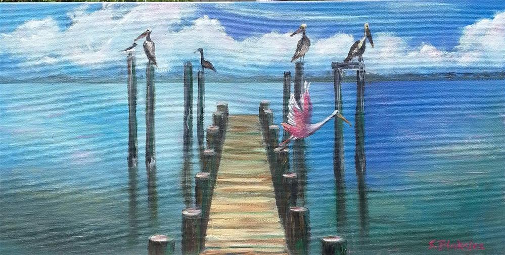 """""""Keeping Watch"""" original fine art by Sissy Blakslee"""