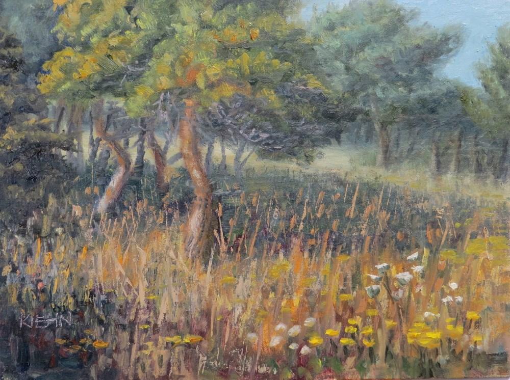 """""""Pine Meadow"""" original fine art by Richard Kiehn"""