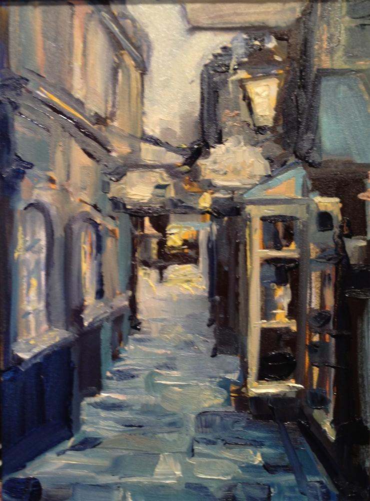 """Blues Street"" original fine art by Kelly Alge"