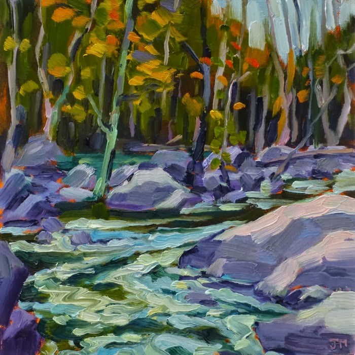 """Croton River No. 2"" original fine art by Jessica Miller"