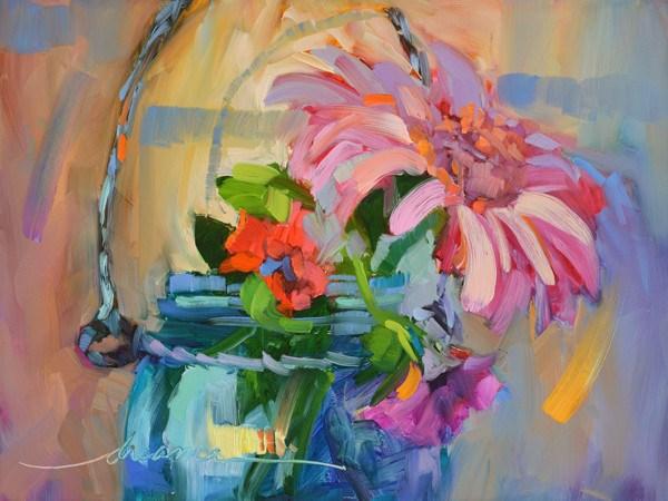 """Joyful Dance"" original fine art by Dreama Tolle Perry"