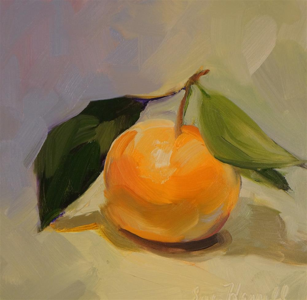 """Satsuma"" original fine art by Sue Harrell"
