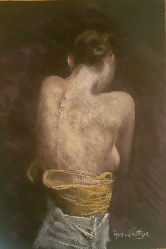 """Skin"" original fine art by Rentia Coetzee"