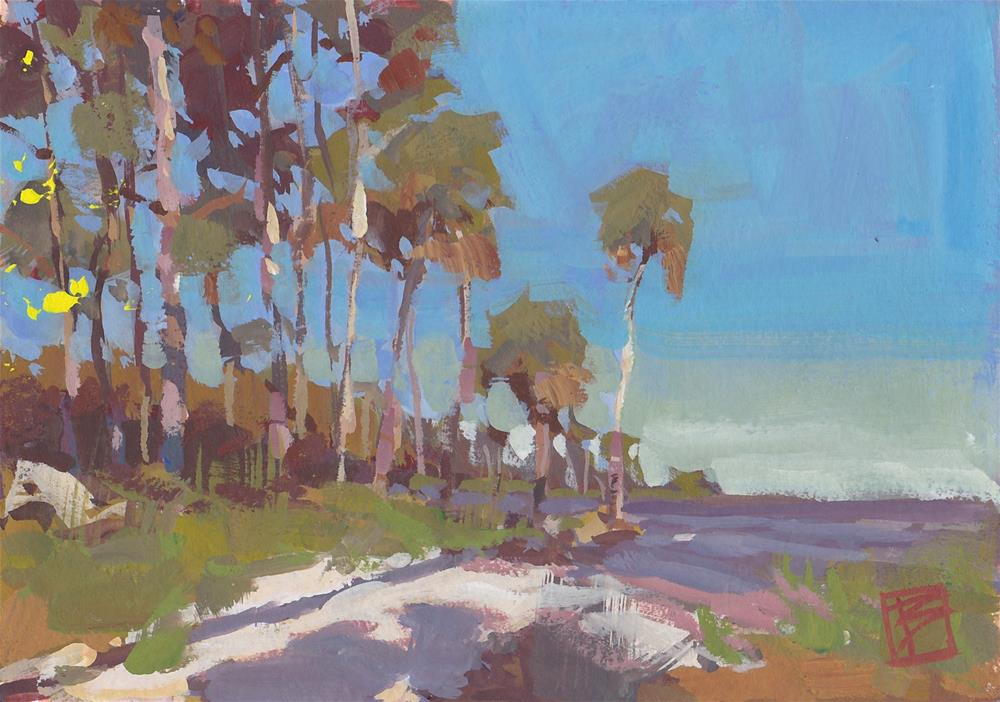 """Apalachicola Bay"" original fine art by David Boyd Jr"