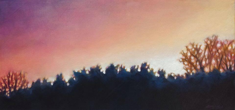 """Sublime Haze"" original fine art by Angela Hardy"