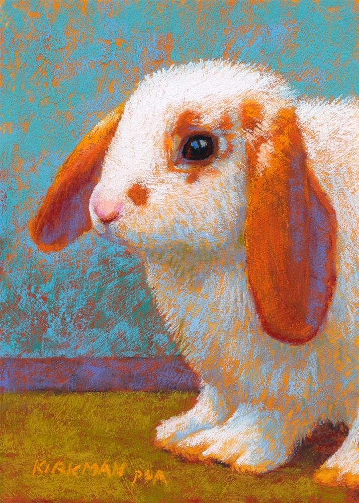 """Floppy (The Return of the Bunnies!)"" original fine art by Rita Kirkman"