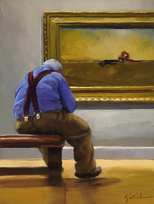 """Loners"" original fine art by Karin Jurick"