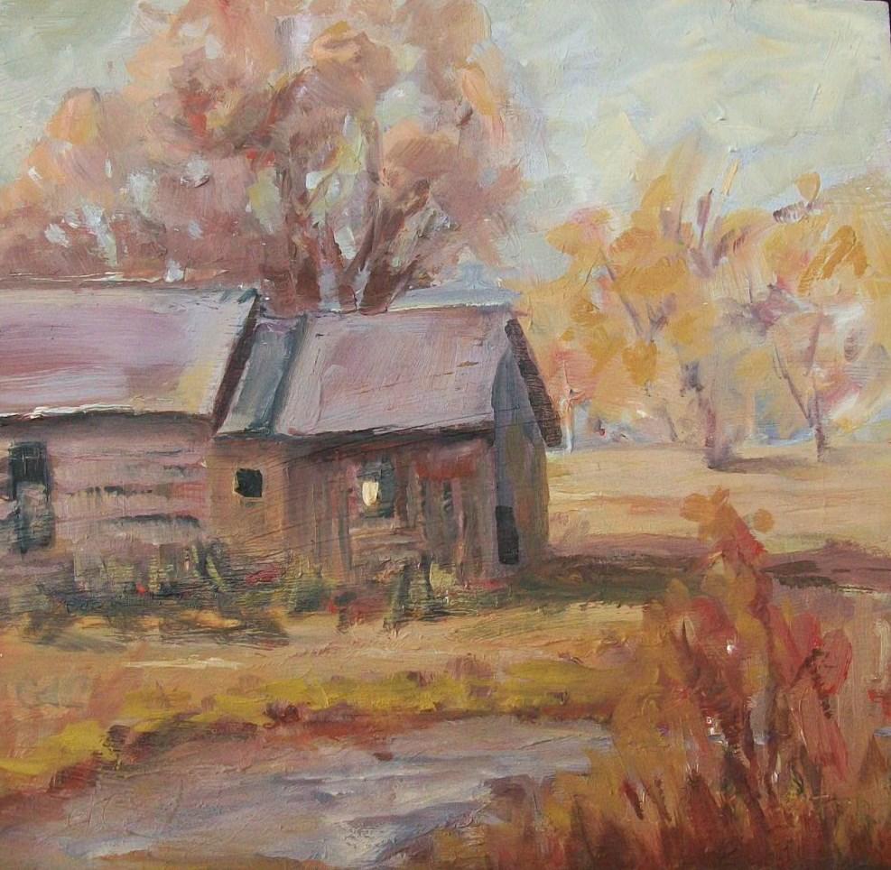 """Around the Bend"" original fine art by Catherine Crookston"