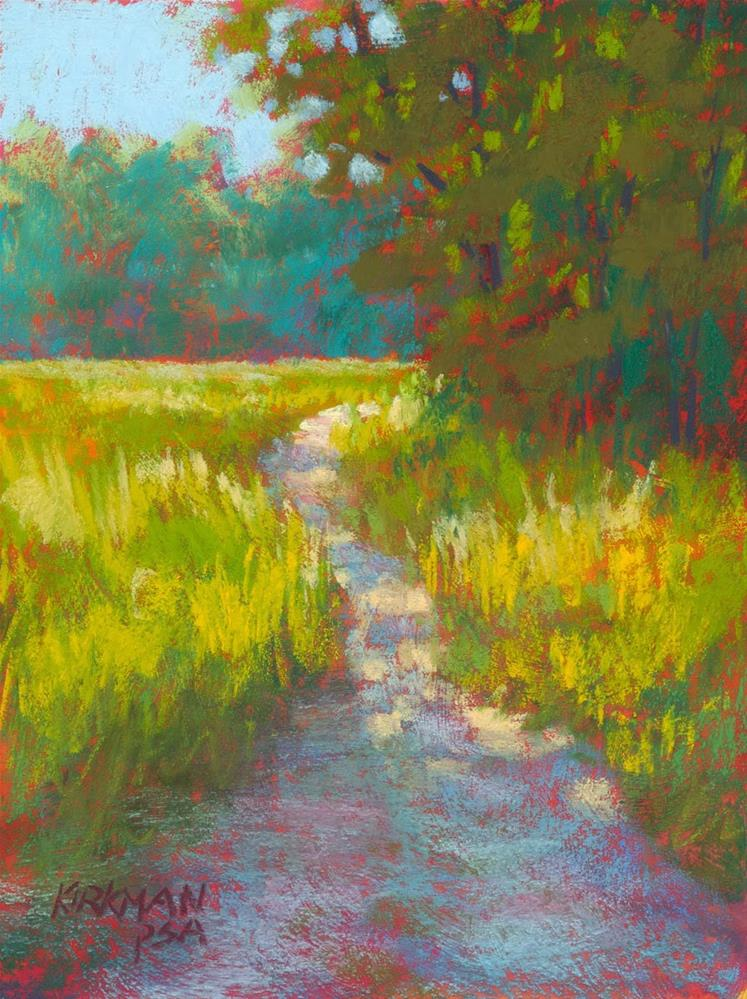 """Park Trail #34"" original fine art by Rita Kirkman"