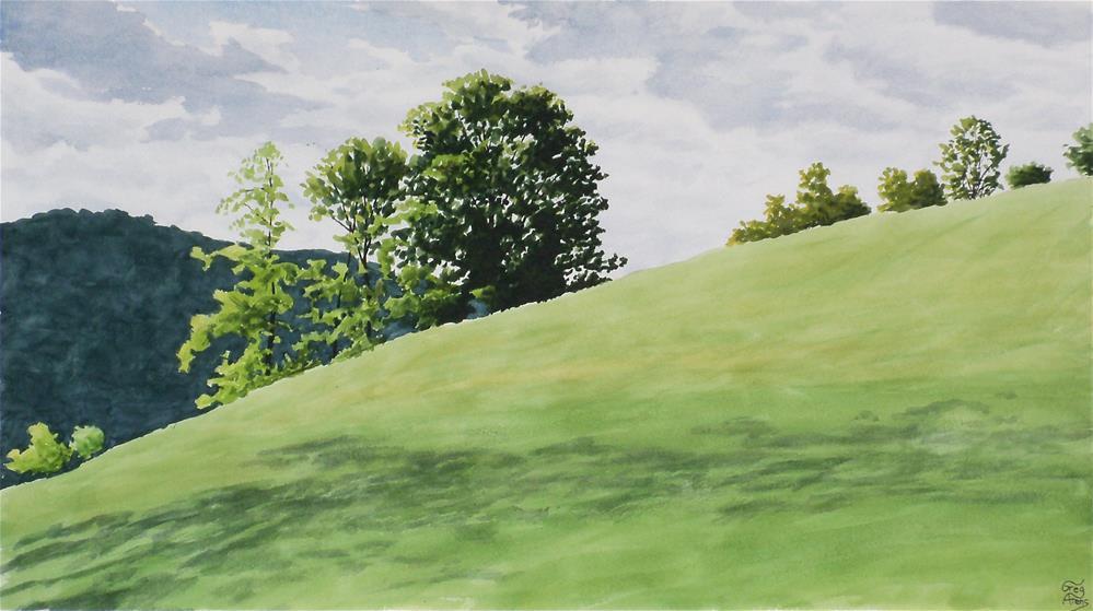 """Roger's Field"" original fine art by Greg Arens"