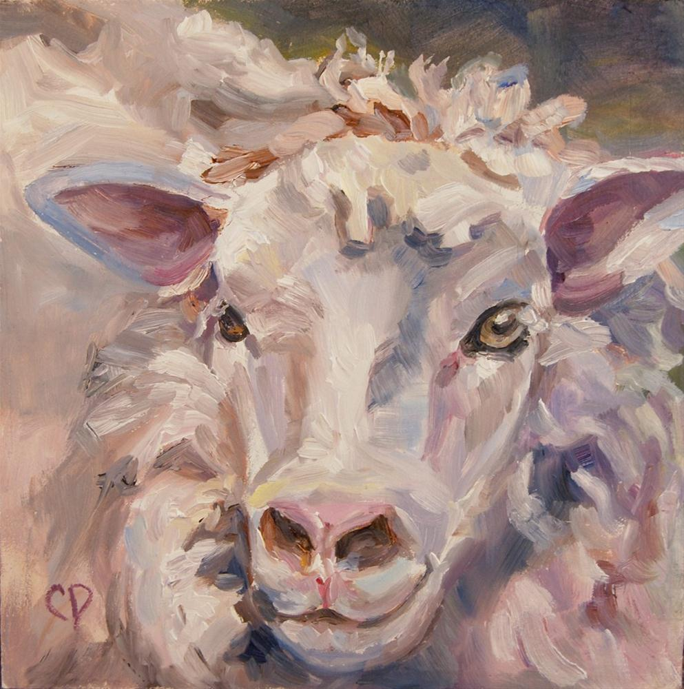 """Lela"" original fine art by Carol DeMumbrum"