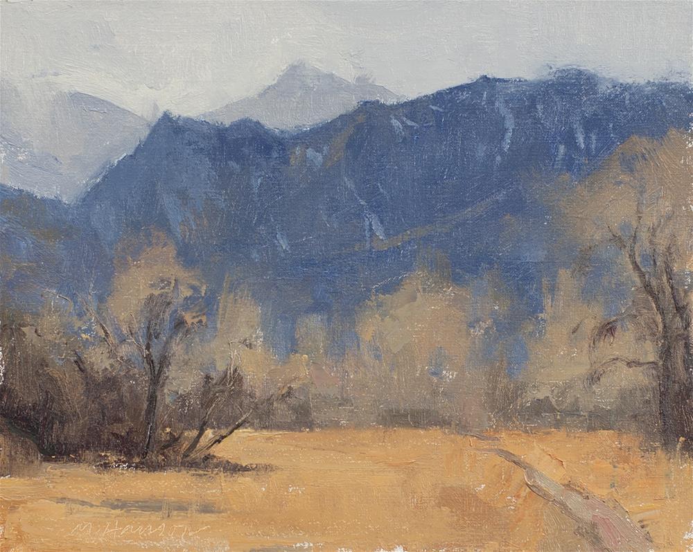 """""""2-22-2 South Boulder Creek 2"""" original fine art by Marc Hanson"""