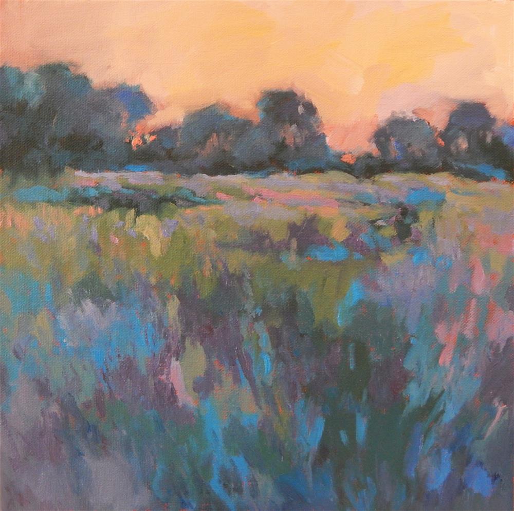 """Dreamscape 2:  Maine Meadow"" original fine art by Lisa Kyle"