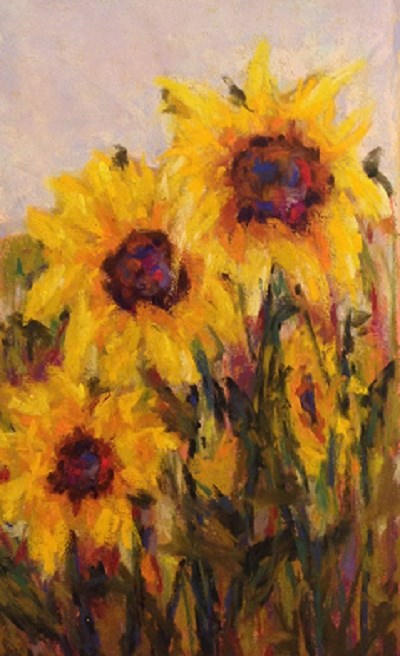 """Colorado Sunflowers"" original fine art by Angeli Petrocco Coover"