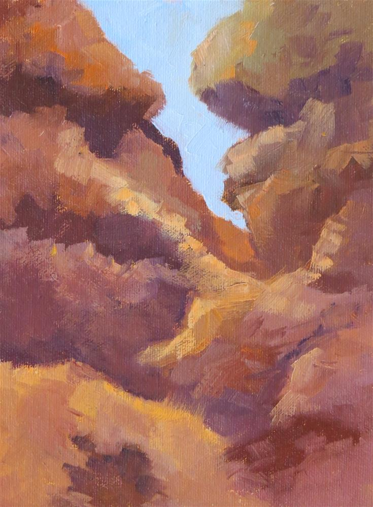 """Rock Of Ages"" original fine art by Pam Holnback"