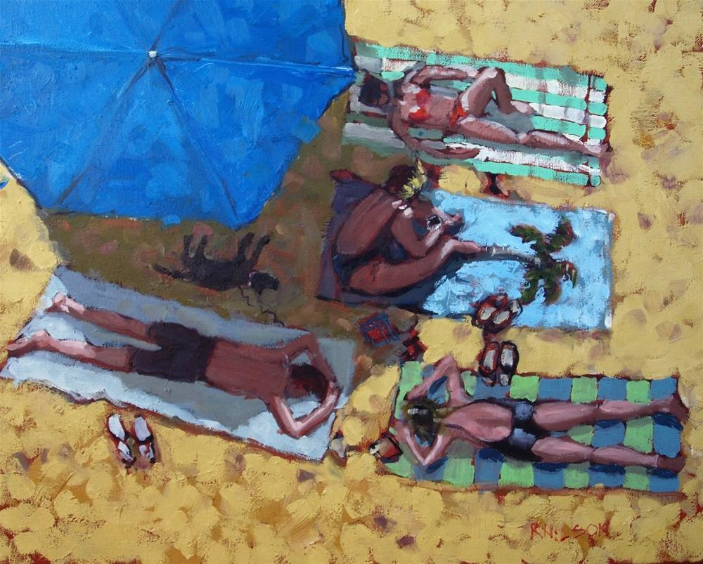 """Intimate Scale"" original fine art by Rick Nilson"