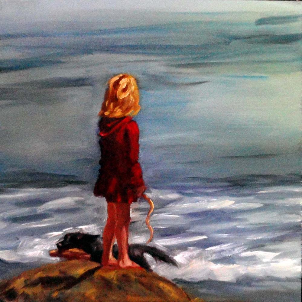 """""""Summer Summit"""" original fine art by Cietha Wilson"""