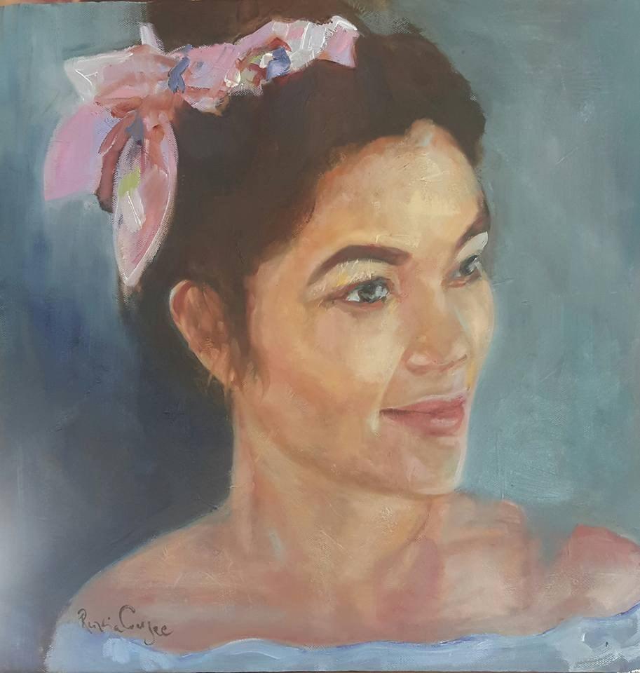 """Camille"" original fine art by Rentia Coetzee"