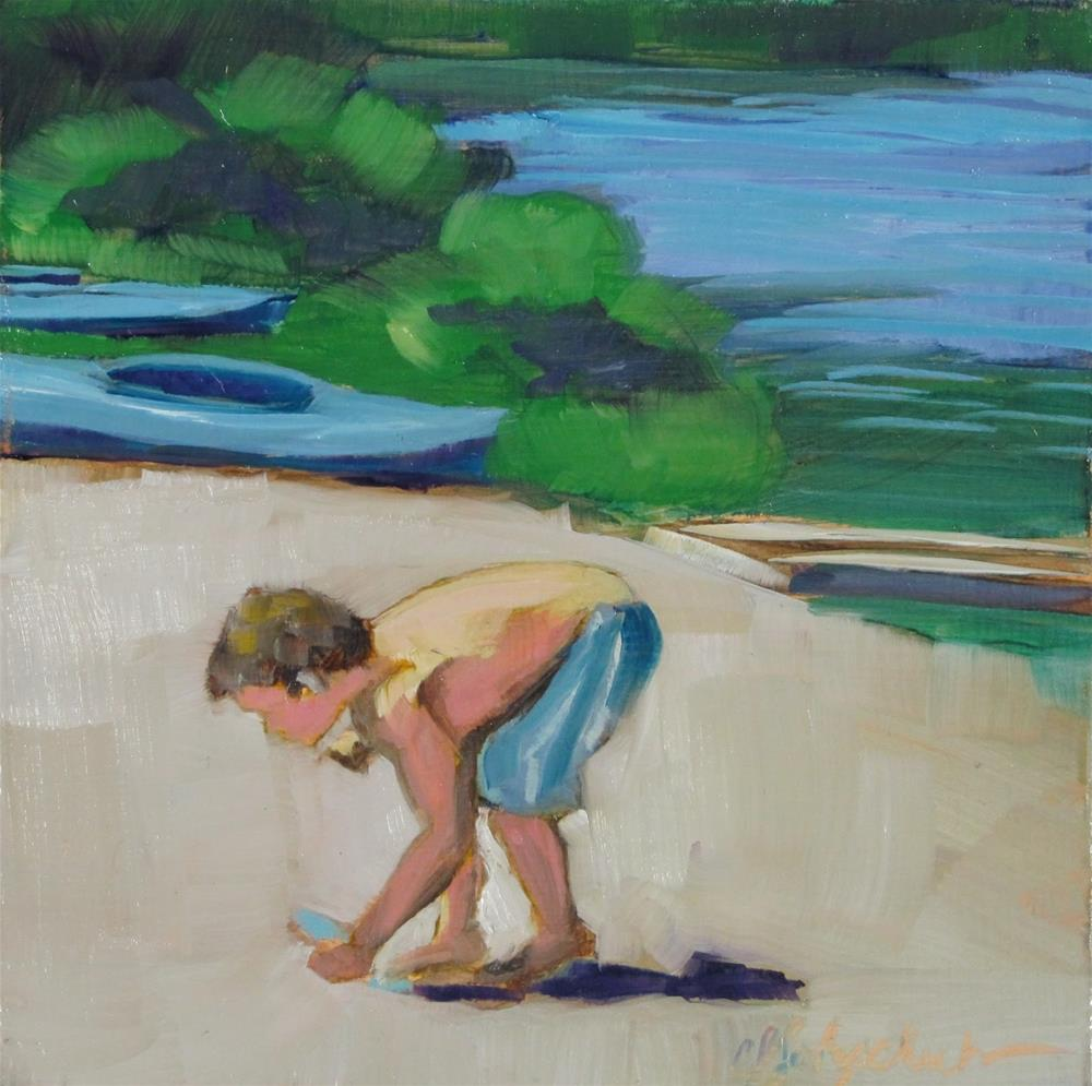"""Sanibel Stoop"" original fine art by Christine Holzschuh"