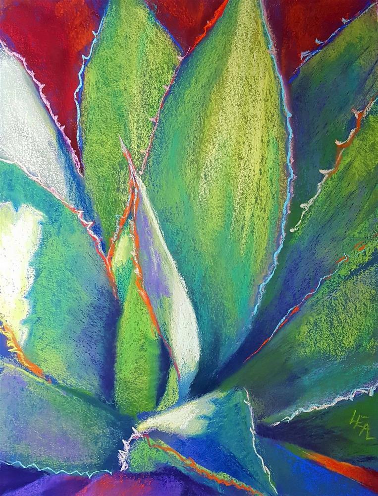 """Green Lantern"" original fine art by Anna Lisa Leal"