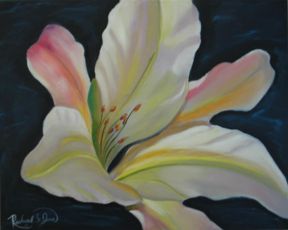 """Lily"" original fine art by Richard St.Jean"