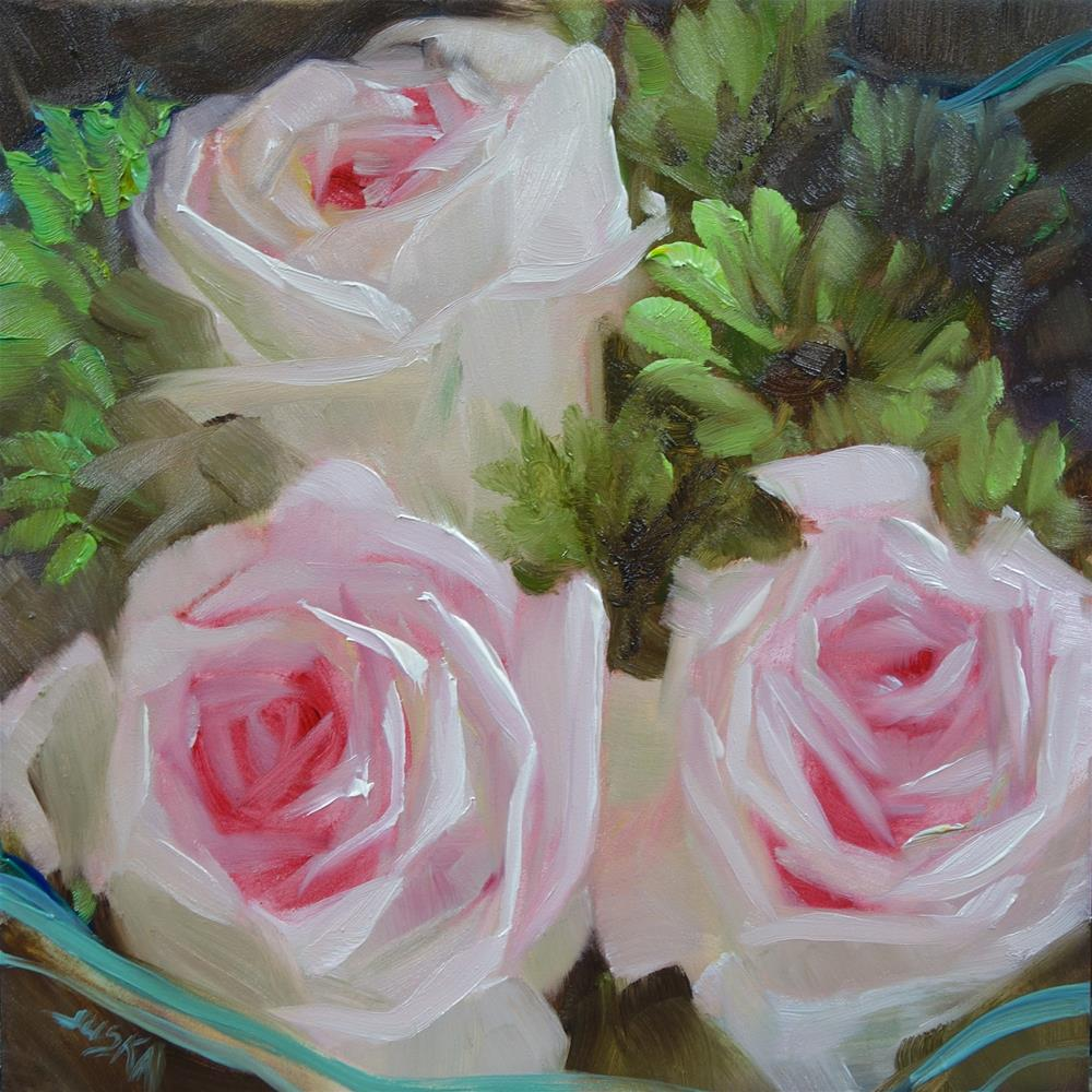 """Sweet as a Rose"" original fine art by Elaine Juska Joseph"
