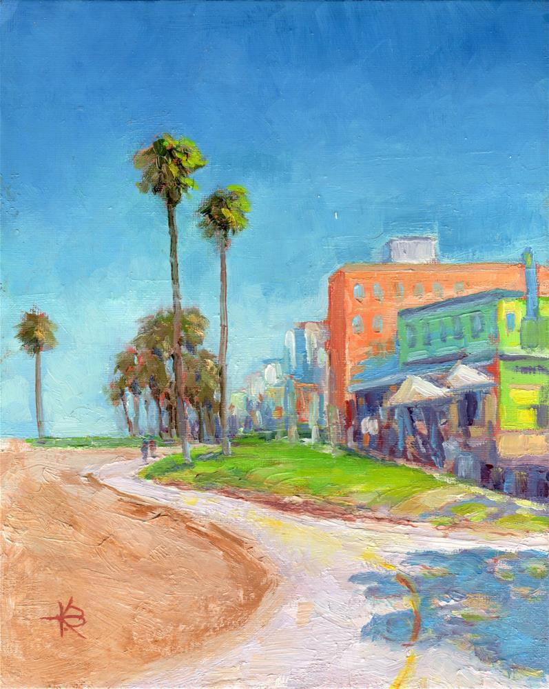 """Venice Beach"" original fine art by Kathy Bodamer"