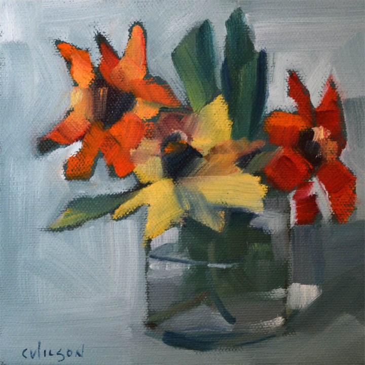 """Untitled"" original fine art by Cheryl Wilson"