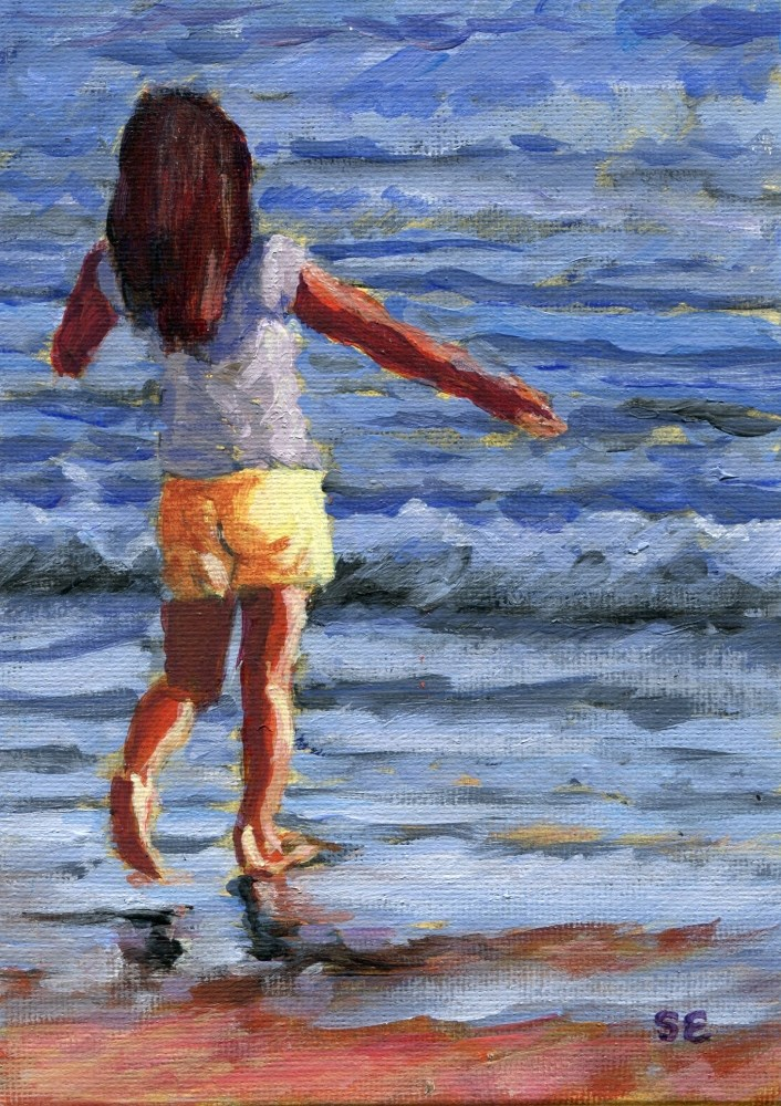 """Good Morning Sunshine"" original fine art by Stanley Epperson"