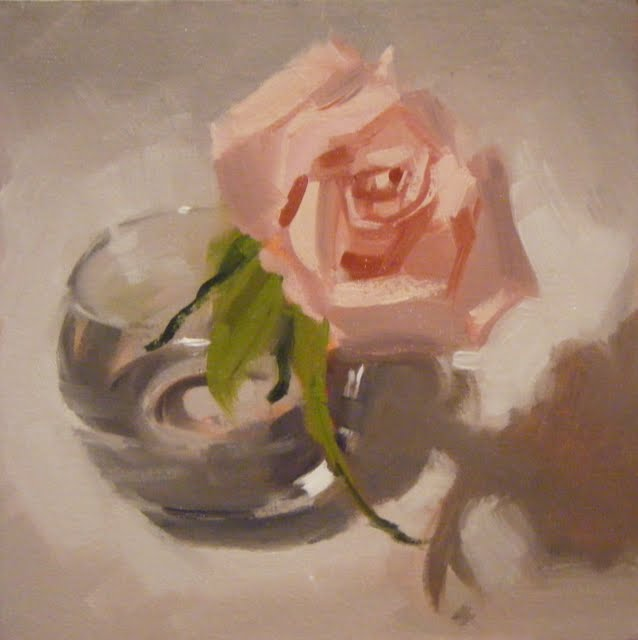 """ROSE ROSE"" original fine art by Helen Cooper"