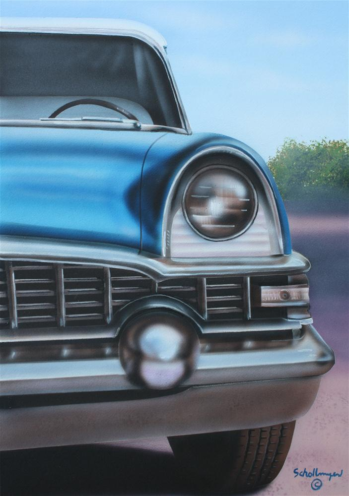 """Classic Cruiser"" original fine art by Fred Schollmeyer"