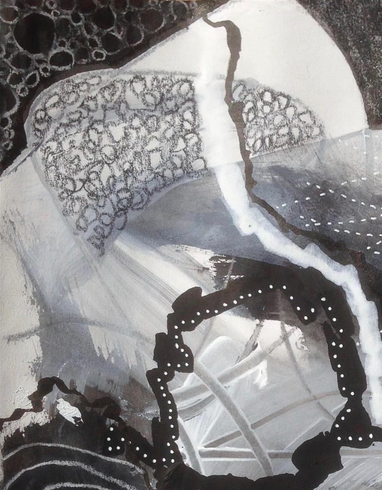 """""""Variety, B&W Day 6"""" original fine art by Dotty  Seiter"""